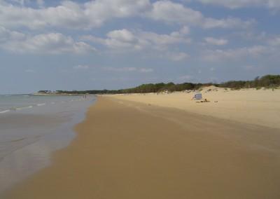 Palmyre beach