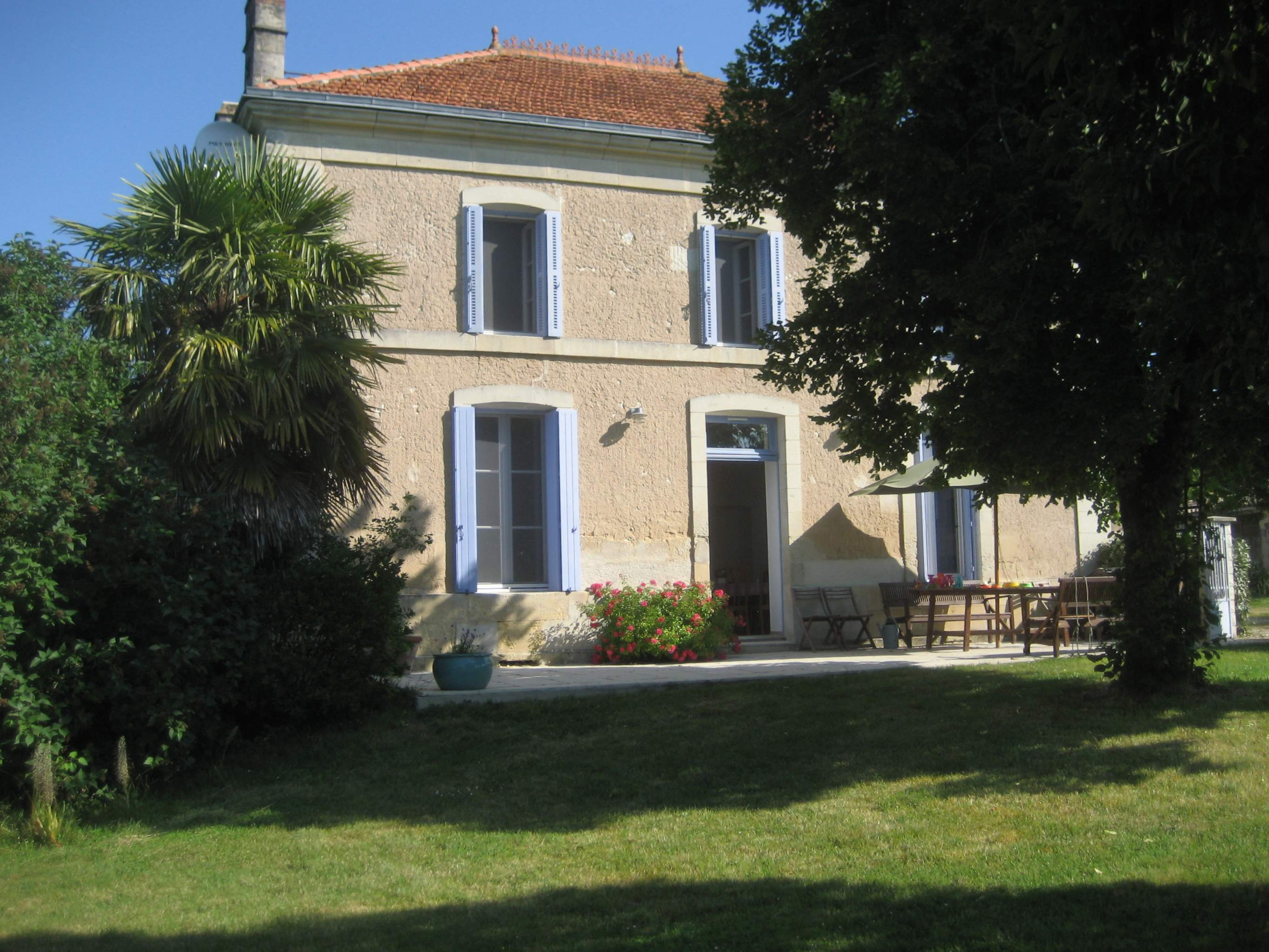 La Renaudrie is a classic French farmhouse for rent