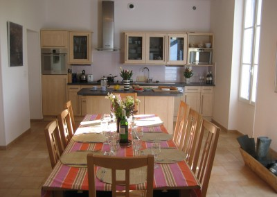 Kitchen:dining area