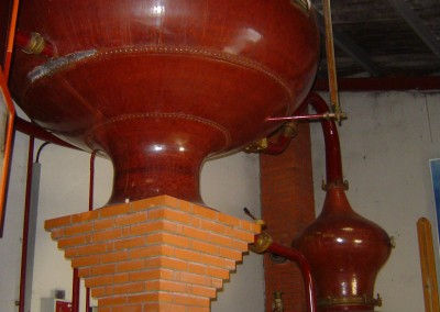 A still in the local Moranderie cognac producer. Visits and tastings are encouraged!