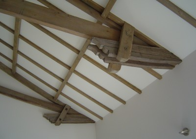 The restored beams